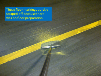 floor markings