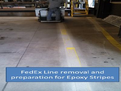 epoxy stripe