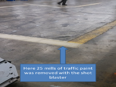 traffic paint removal