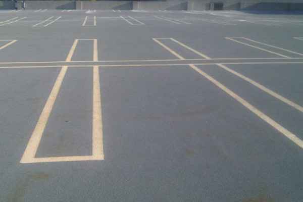line striping parking lot