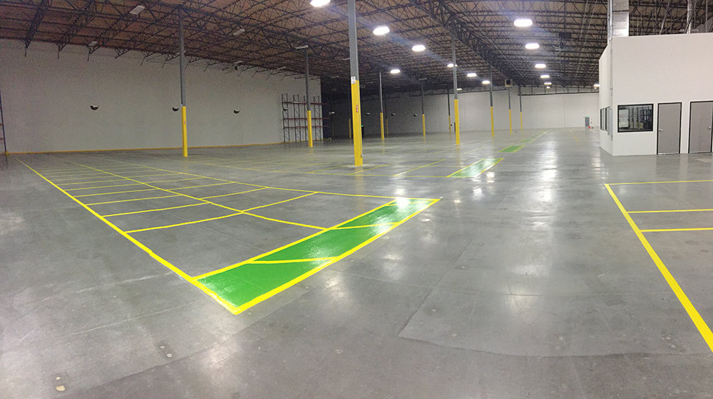 floor marking warehouse